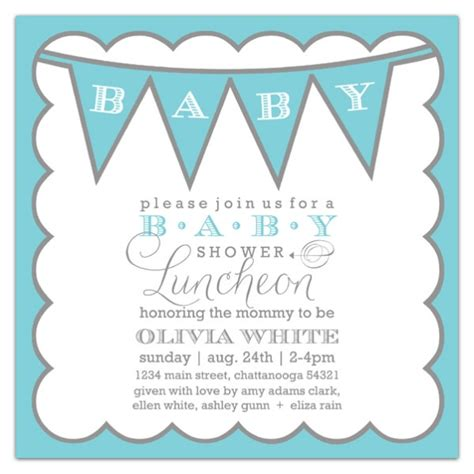 any color baby boy shower invitations paperstyle