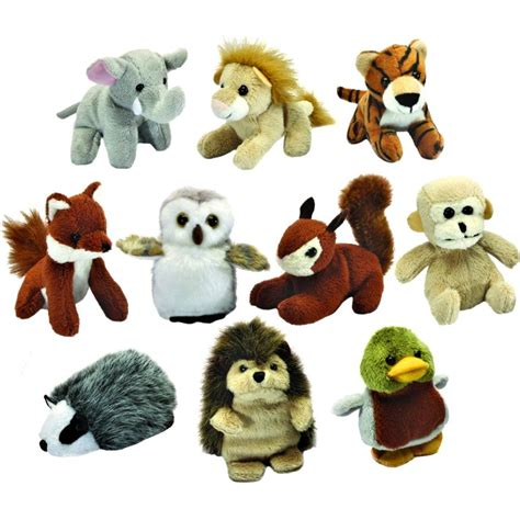 small toy small animal soft toys woodland animal toys cuddly toys