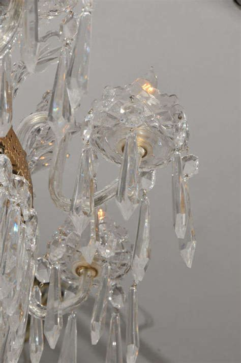Waterford Glass Chandeliers Waterford Chandelier At 1stdibs