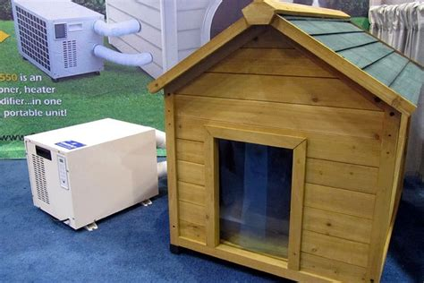dog houses with air conditioning pin by jeanine on things my dogs may need just dog stuff pintere