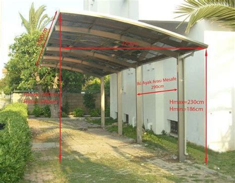 prefab awnings steel structure carport canopy garage awning china