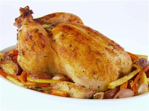 roast chicken and root vegetables roast chicken recipe dishmaps
