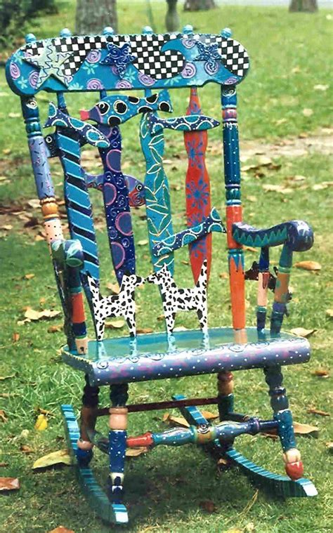 painted armchair ideas for painting a rocking chair ideas for painted chairs pinterest