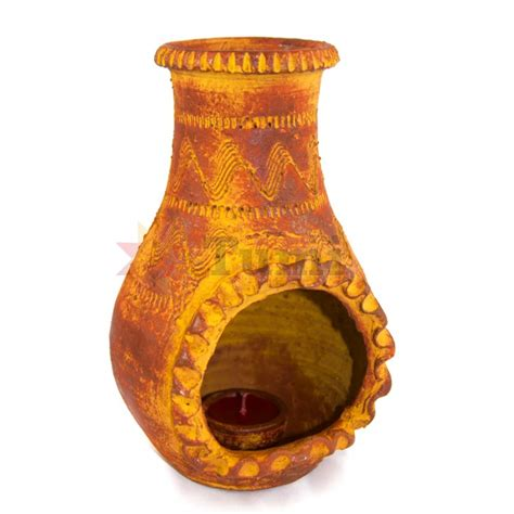 Unique Chiminea by Mexico Chiminea Candle 22cm