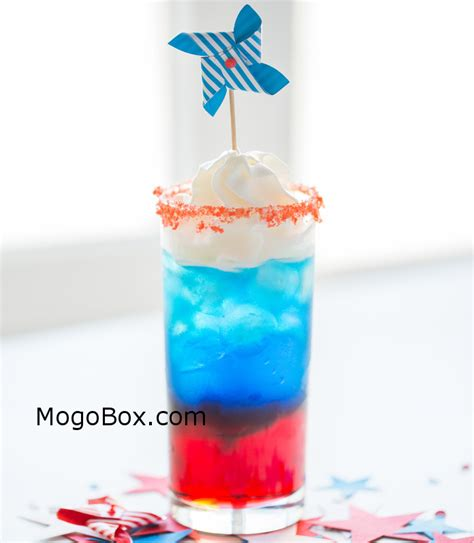 red white and blue cocktail mogobox