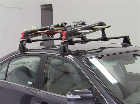 ski rack subaru subaru legacy yakima big powderhound roof mounted locking