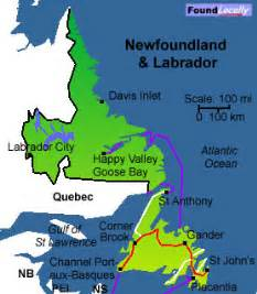 newfoundland maps moving in canada