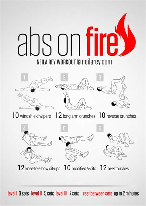 no equipment exercises for get fit with 6 packs abs