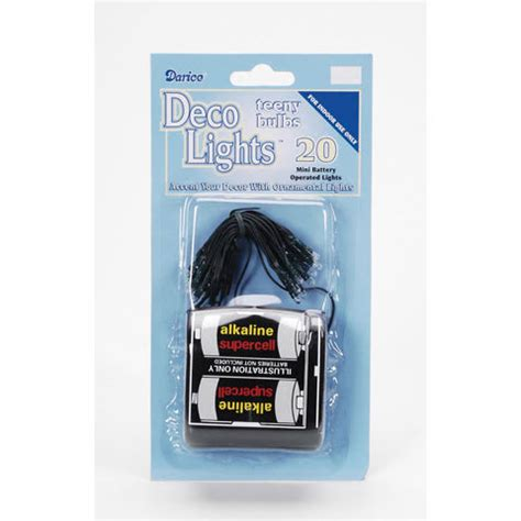 deco lights brown wire 20 light strand battery rice deco lights green wire clear