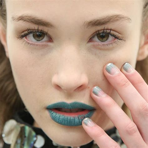 nail polish trends fashion week fall  popsugar beauty