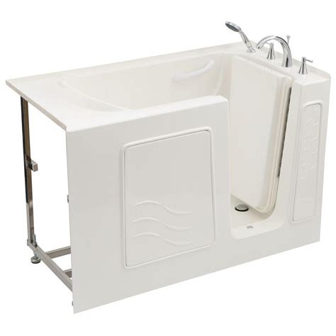 home depot walk in bathtub universal tubs 4 5 ft right drain soaking walk in bathtub