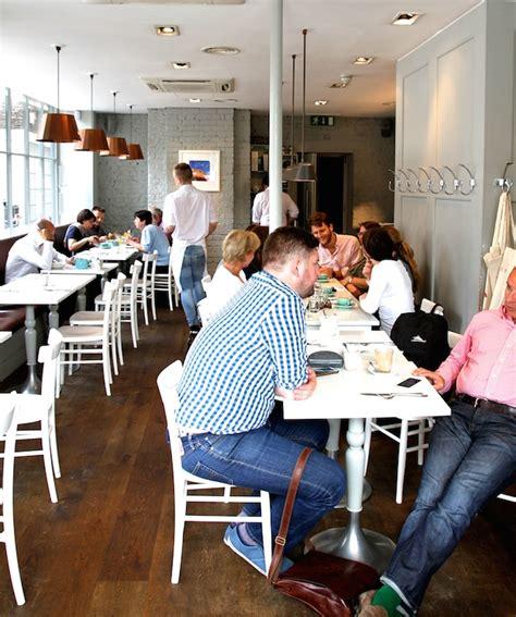 london cafes  modern pantry clerkenwell
