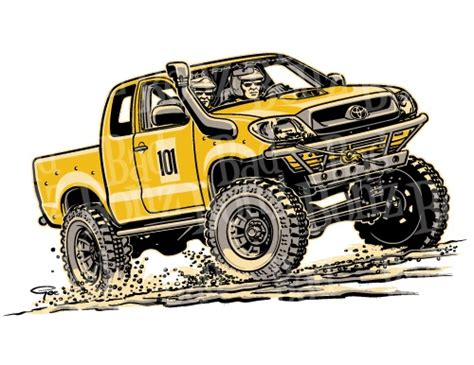 jeep cartoon offroad 16 best toyota hilux images on pinterest toyota hilux