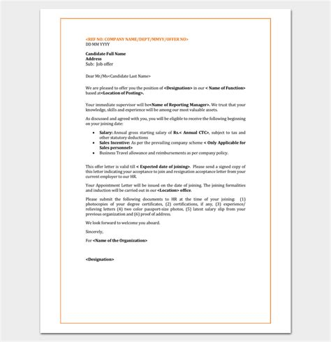 appointment letter contract employee 2017 contract renewal letter this sle as word