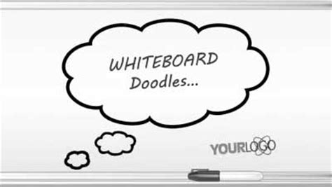 doodle whiteboard free whiteboard doodles a powerpoint template from