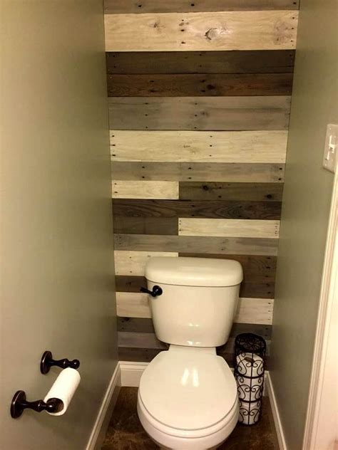 Pallet Wall Bathroom 70 Pallet Ideas For Home Decor Pallet Furniture Diy Part 6