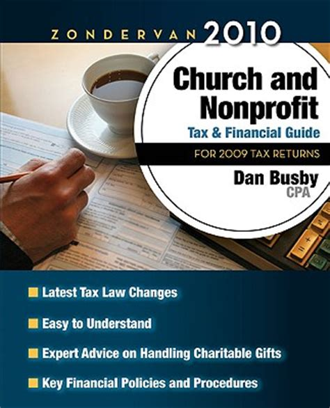 zondervan 2018 church and nonprofit tax and financial guide for 2017 tax returns books busby zondervan church and nonprofit tax manual book