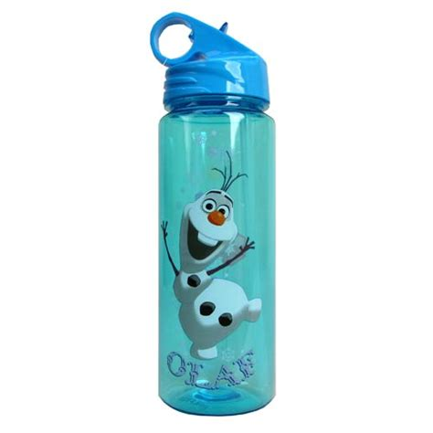 olaf printable water bottle frozen olaf the snow man happy 20 oz tritan water bottle