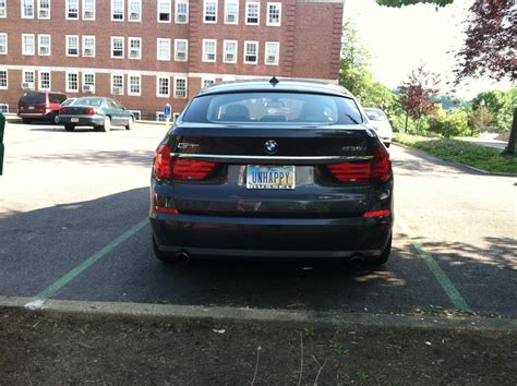 Bmw Vanity License Plates by Interesting Vanity Plate On A Bmw