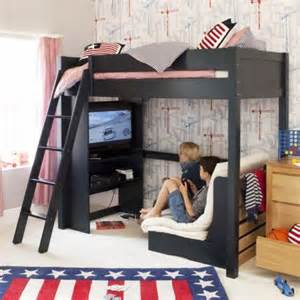 high sleeper on loft beds ikea kura hack