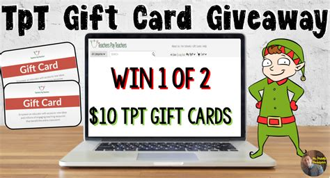 Tpt Gift Card - tpt gift card giveaway mr mault s marketplace