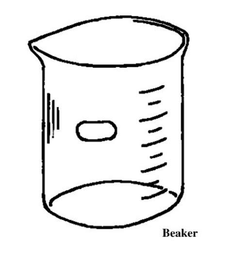 Chemistry Coloring Page Chemical Beaker Drawing Clipart Best by Chemistry Coloring Page