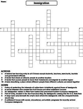 science world crossword worksheet answer key. science