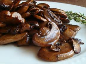 good dinner mom wine glazed mushrooms mushrooms with