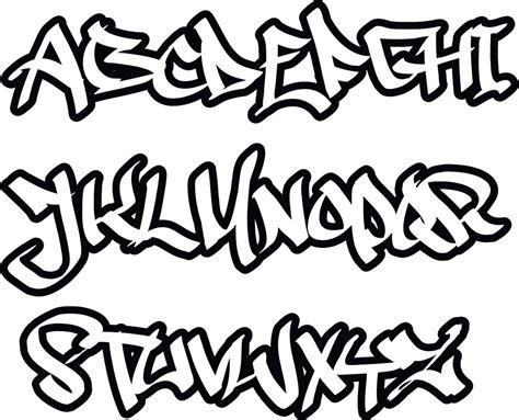 foto graffiti schrift abc   contoh