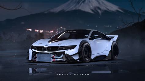 bmw i8 modified bmw i8 rendered as proper race car autoevolution