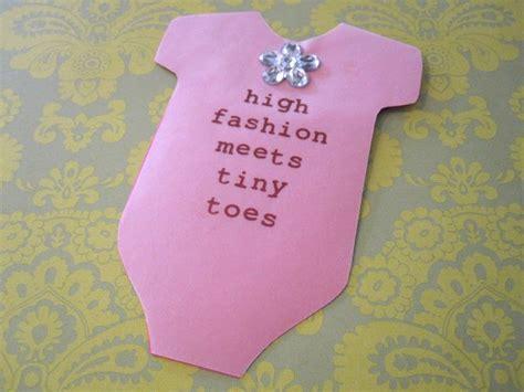 Baby Shower Handmade Invitations - cathie filian snapsuit decorating baby shower handmade