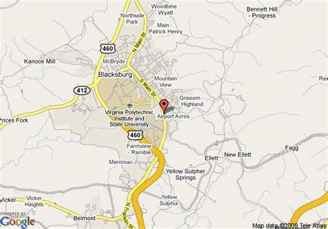 blacksburg va map map of carpet inn blacksburg blacksburg