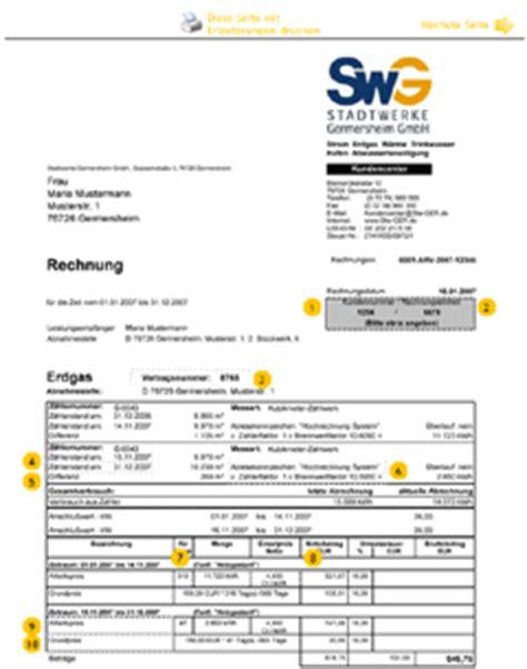 Musterrechnung Differenzbesteuerung Stadtwerke Germersheim Muster Rechnung