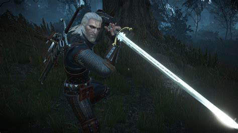make a witcher 3 sword lore friendly silver swords at the witcher 3 nexus mods