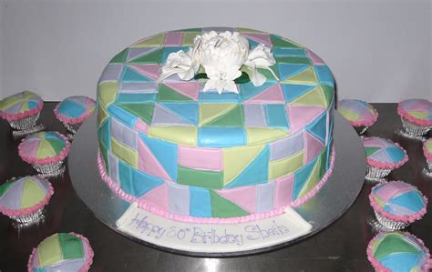 Patchwork Cakes - patchwork quilt cake s heavenly cakes
