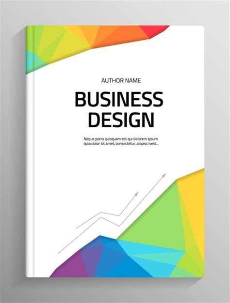 template for book cover page book cover page design free vector download 7 535 free