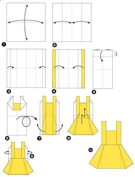 Paper Dress Origami - origami dress paper dress origami dress