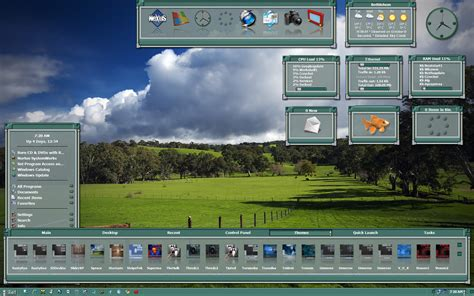 xtreme themes for windows 7 wincustomize explore winstep spruce xtreme