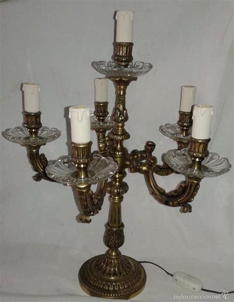 candelabros de pared en bronce candelabro de bronce 6 puntos de luz primera comprar