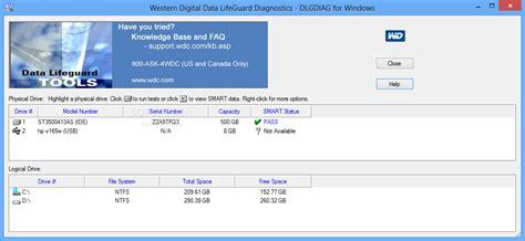 format hard drive zero fill western digital data lifeguard diagnostics download