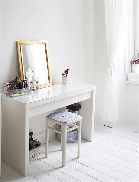 ikea makeup vanity inspiration ikea malm dressing table makeup