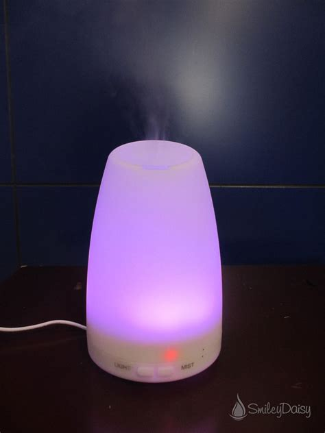essential oil diffuser aromatherapy essential oil diffuser the daisy smileydaisy