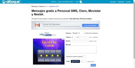 tutorial internet gratis celular vivo mandar sms gratis para celular mandar mensajes gratis a