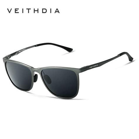 Kacamata Veithdia Aluminum Sunglasses Polarized Lens Sun Glasses buy veithdia retro aluminum magnesium brand s