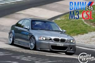 extraordinary bmw e46 m3 csl rallyways
