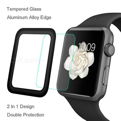 Tempered Glass Apple 1 2 3 42mm Or 38mm hat prince coverage tempered glass protector for