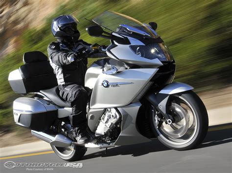 bmw touring bike 2012 bmw k1600gtl first ride photos motorcycle usa