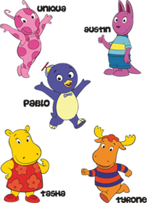 Backyardigans What Of Animals Are They Backyardigans Color Logo Vector Cdr Free