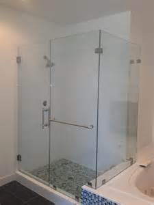 how to install frameless glass shower doors frameless glass shower door photo gallery precision glass