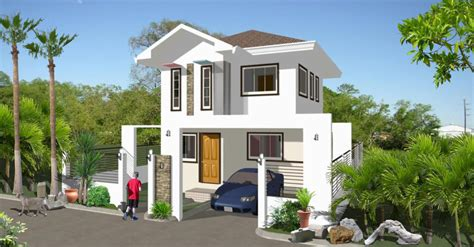 housing design house designs in the philippines in iloilo by erecre realty design and construction